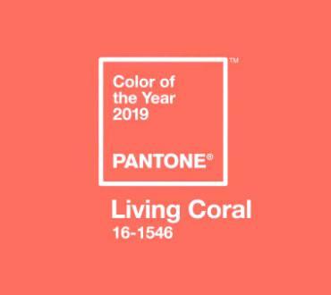 Living coral, couleur Pantone de l'année