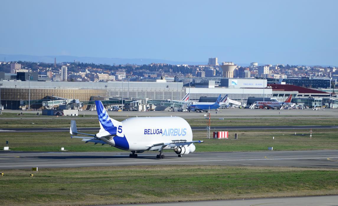 Beluga Toulouse-Blagnac
