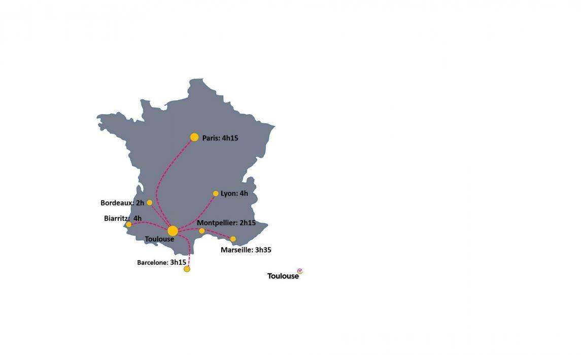 Liaisons SNCF Toulouse
