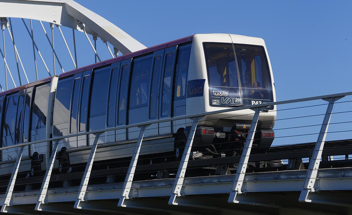 Le métro à Toulouse