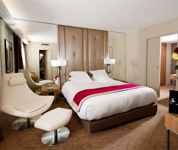 Meetings - Privilège Hôtel Mermoz, chambre double