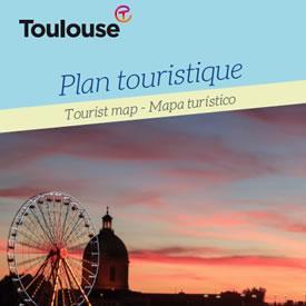 Plan touristique de Toulouse