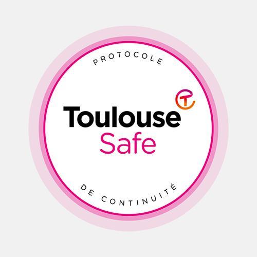 Logo Toulouse safe - Toulouse Convention Bureau