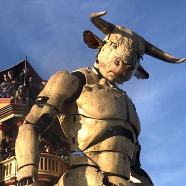 Le Minotaure à la Halle de la Machine © Natoetsy Raymonde