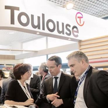 Stand Toulouse au MIPIM