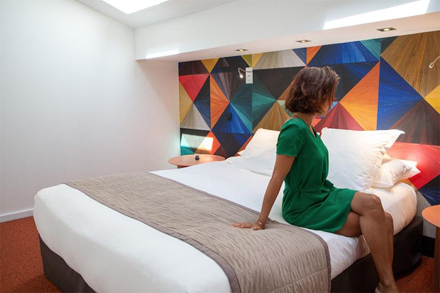 Meetings - Appart-Hôtel Clément Ader, chambre grand lit