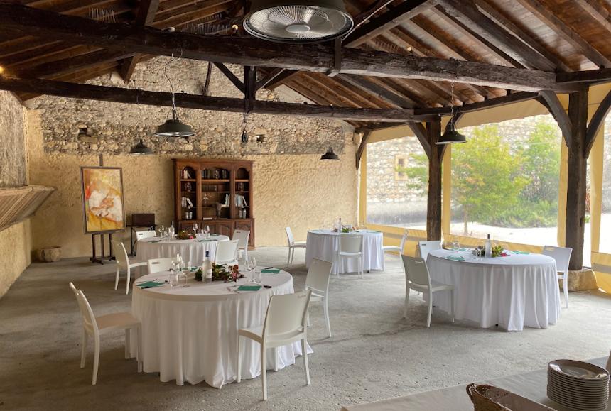 Meetings - Château St Martory - Repas extérieur