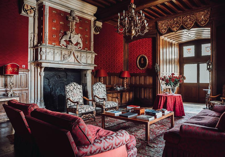 Meetings - Château St Martory - Salon rouge