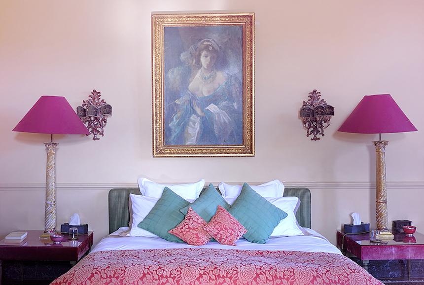 Meetings - Château St Martory - Chambre rose
