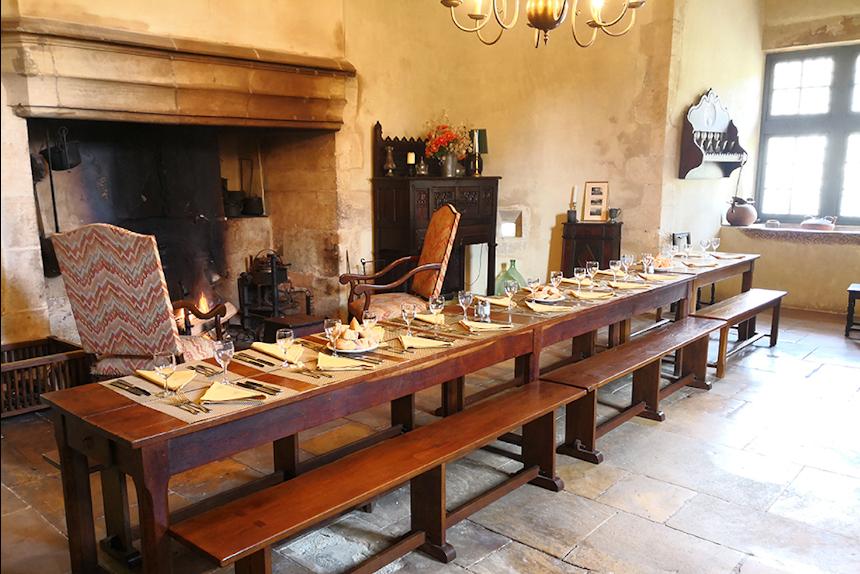 Meetings - Château St Martory - Salle repas