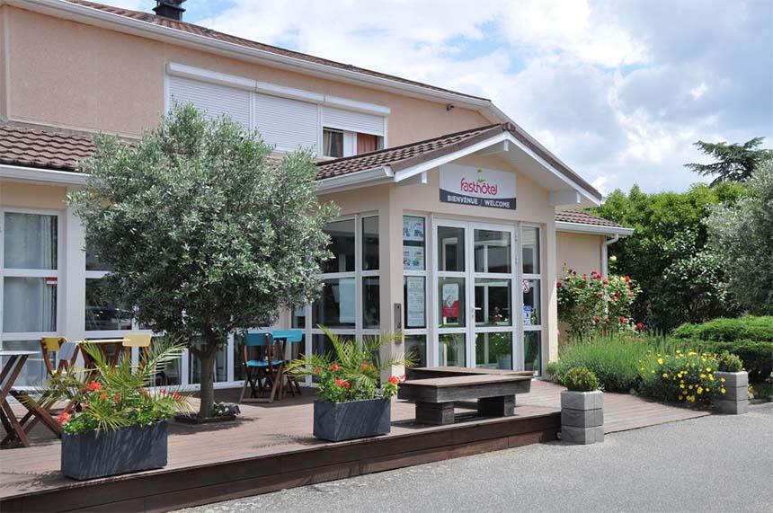 Meetings - Fasthotel Toulouse Blagnac aéroport, terrasse
