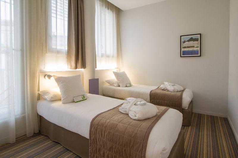 Meetings - Privilège Appart'Hôtel Saint-Exupéry, chambre deux lits