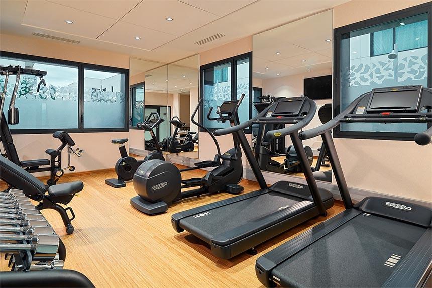 Meetings - Residence Inn Toulouse Blagnac Aéroport, salle de fitness